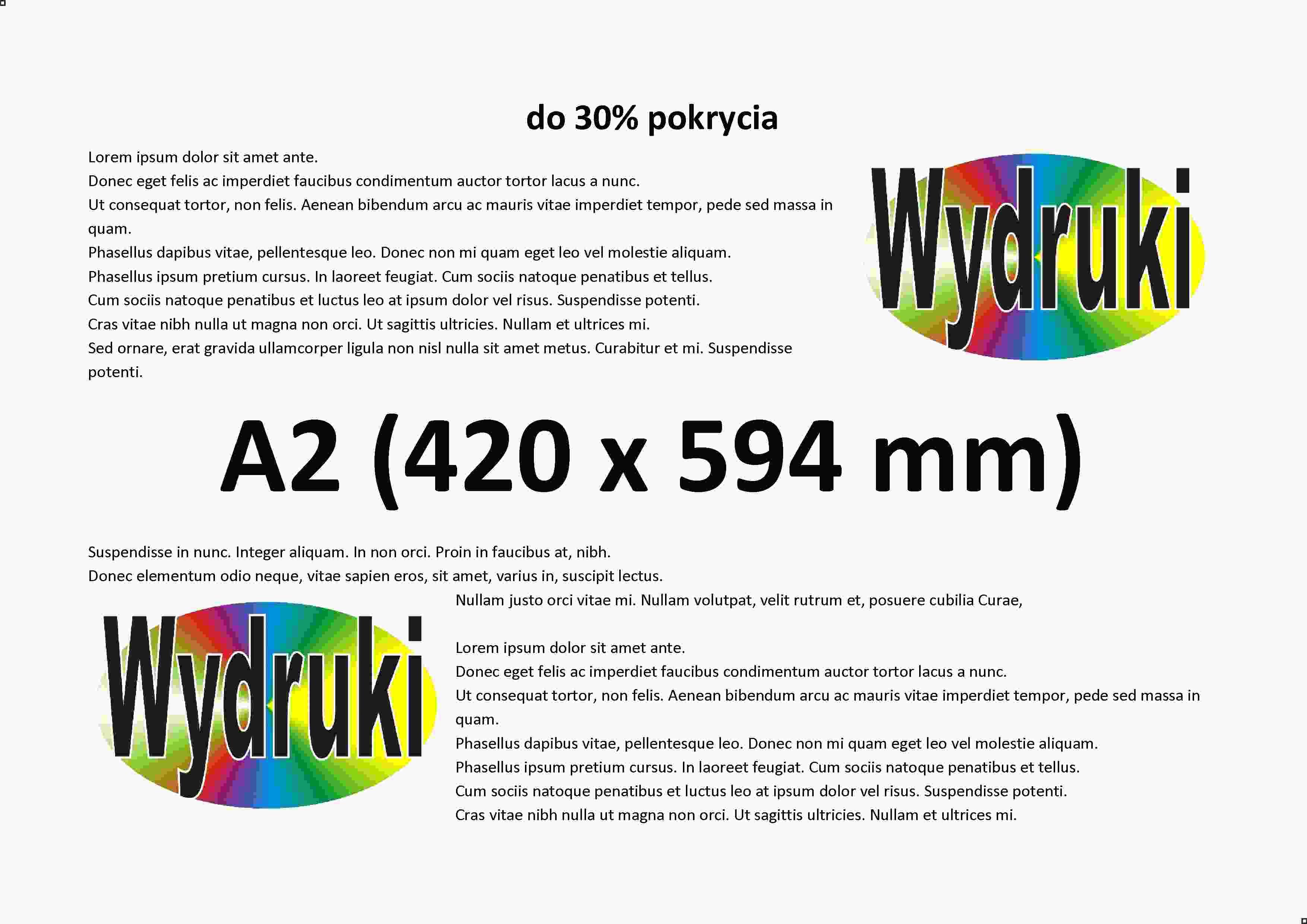80630ba2dcb4e9 Druk A2 (420 x 594 mm) kolorowy, wgraj plik do druku .